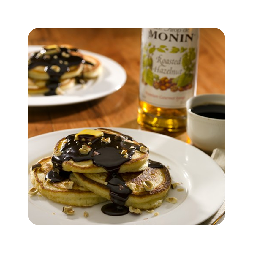 MONIN ROASTED HAZELNUT PANCAKES 사진